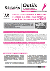Fiche N 18 Modifications Issues Des Lois Macron Et Rebsamen